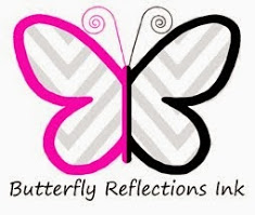 Butterfly Reflections Ink